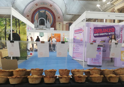 Our Pie stand at Alexander Palace