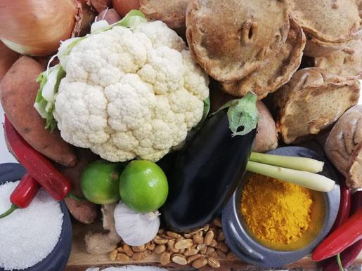 Cambodian Yellow Curry Vegan Pie
