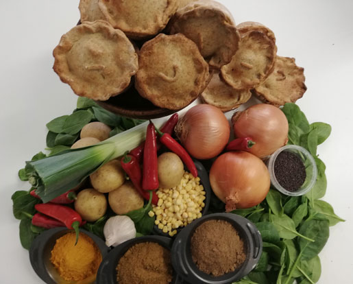 Cochin Coconut Masala Vegan Pie