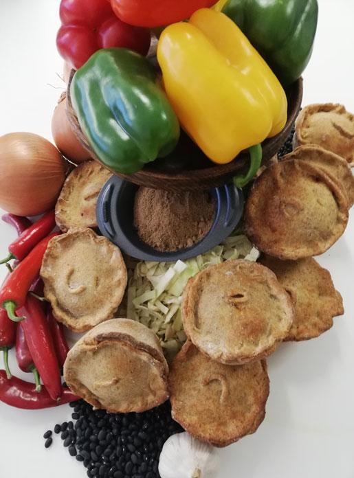 Havana Bean & Pepper Vegan Pie