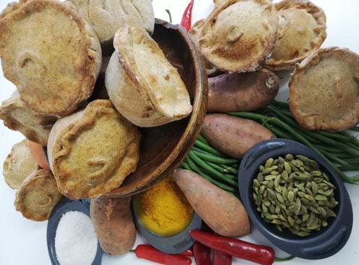 Zanzibar Bean & Coconut Vegan Pie